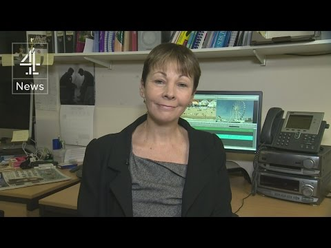 Caroline Lucas on climate change and Stop the War