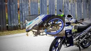 125zr 2016 blue gp rossi 46 with racing boy component