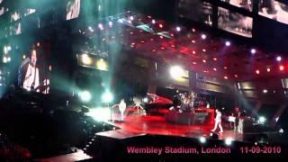 Muse live - Uprising + Intro (HD/multi-angle), Wembley Stadium, London, 11-09-2010