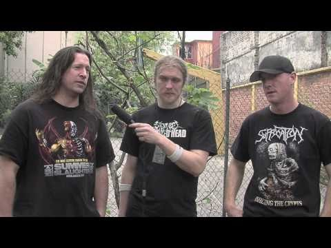 Dying Fetus HD interview
