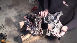 Tuto de démontage du vilebrequin et de la boite de vitesse sur un moteur Minarelli AM6