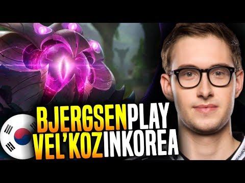 Bjergsen Plays Vel'koz Mid in Korea Bootcamp! - TSM Bjergsen Playing Vel'koz Mid! | Be Challenger