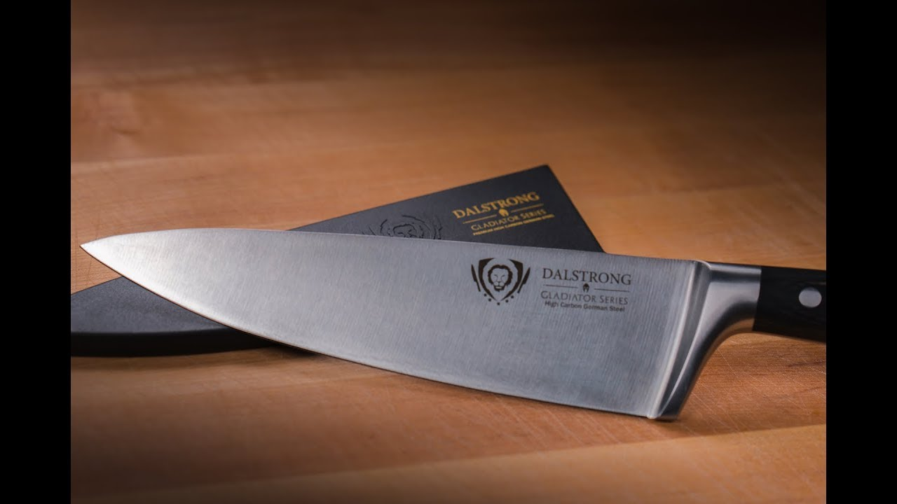 Four Month Reviews: The Dalstrong 8in Gladiator Series Chef Knife ...