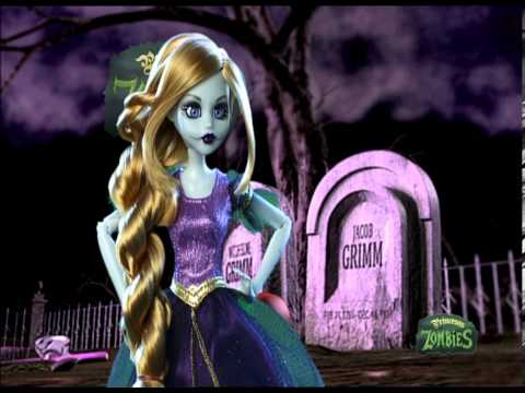 Once Upon A Zombie Rapunzel