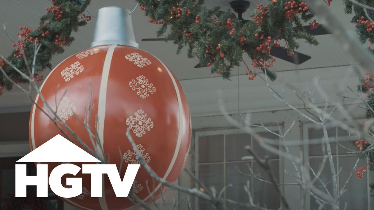 diy giant beach ball ornament