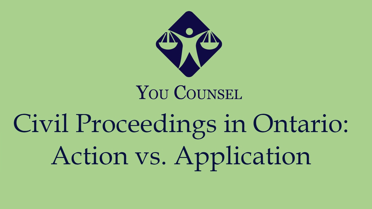 Civil proceedings in ontario action vs application youtube civil proceedings in ontario action vs application solutioingenieria