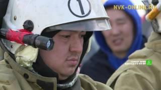 Выявили лучших пожарных-газодымозащитников Якутии