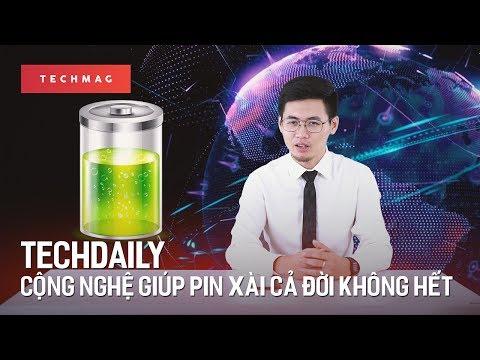 """TechDaily 8/7: Công nghệ mới cho phép """"dùng cả đời không cần sạc pin"""""""