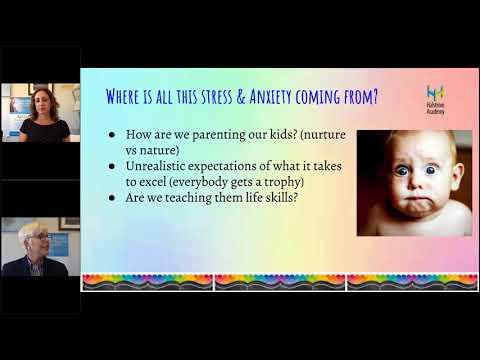 Halstrom Academy Parent Education Webinar: Stress & Anxiety