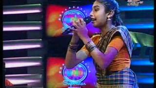 Shakthi TV Junior Super Star Gloria Anne Divya 02-10-2011 Adi Aathadi