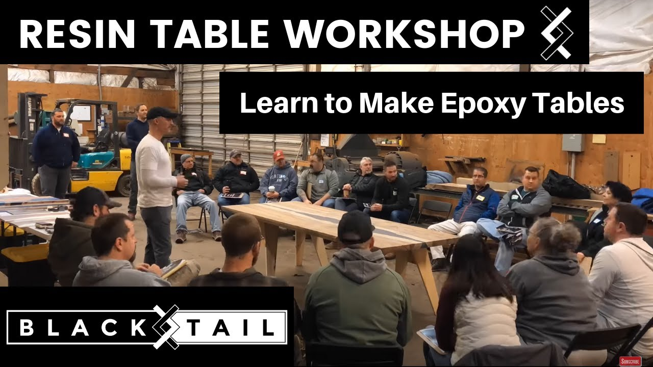Resin Table Workshop Learn To Make Epoxy Tables How To Woodworking