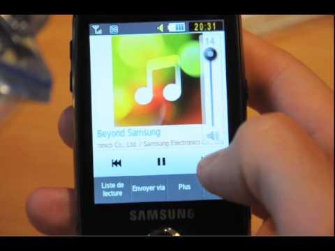 Test du Samsung Corby Pro par test-mobile.fr