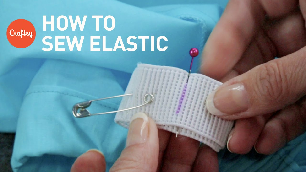How To Sew Elastic 2 Techniques Sewing Tutorial With Angela
