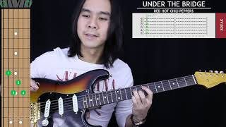 Under The Bridge Guitar Cover - Red Hot Chili Peppers 🎸 |Tabs + Chords|