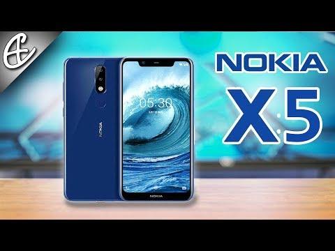 Nokia X5 / Nokia 5.1 Plus - 10k Budget SmartPhone w Helio P60 and Notch