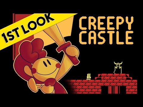 First Look At - Creepy Castle (2016 PC Gameplay Review)