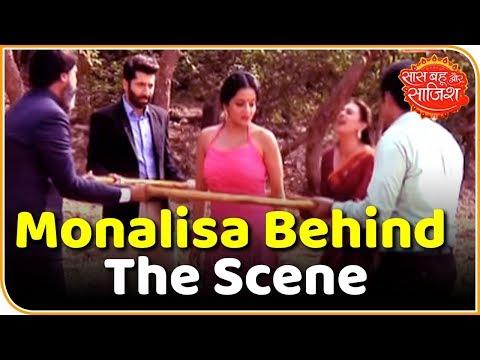 Watch Nazar actress Monalisa's behind the scene moments | Saas Bahu Aur Saazish thumbnail