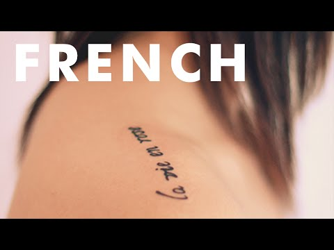 Inspiring Little French Tattoos