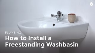 How to Install a Pedestal Sink | DIY Projects