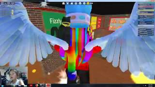 Roblox Make the pizza Eva makes pizza with his brother on Roblox