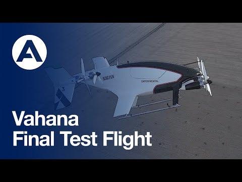 Vahana's final test flight