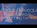 About Béliveau - I would leave everything behind - (Official Video)