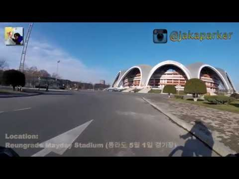 Cycling in Pyongyang - North Korea - GoPro - Part 4-5