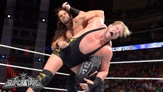 Jack Swagger vs. Adam Rose: WWE Superstars,  March 20, 2015