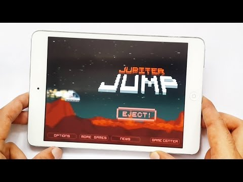 Jupiter Jump Gameplay IOS IPhone & IPad HD