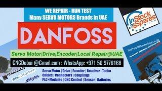 Danfoss Servo Motor Encoder Repairs @ UAE Dubai, Abu Dhabi  Saudi Arabia, Oman, Bahrain, Kuwait