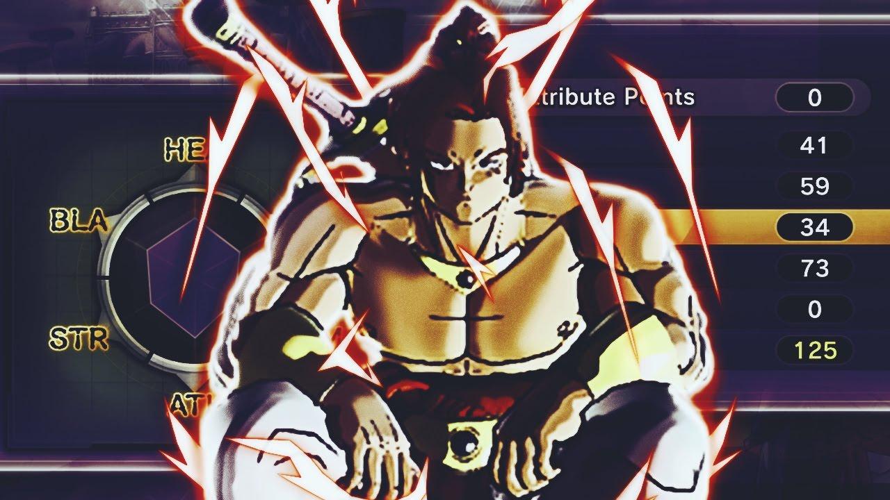 Balanced Male Saiyan Build! Saiyan Attribute Points! Dragon Ball Xenoverse 2