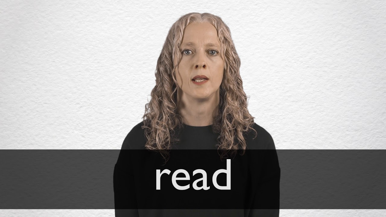 How to pronounce READ in British English