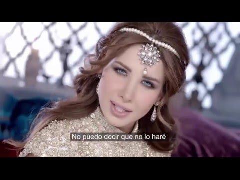 Nancy Ajram - Ma Aw3edak (Letra en español)