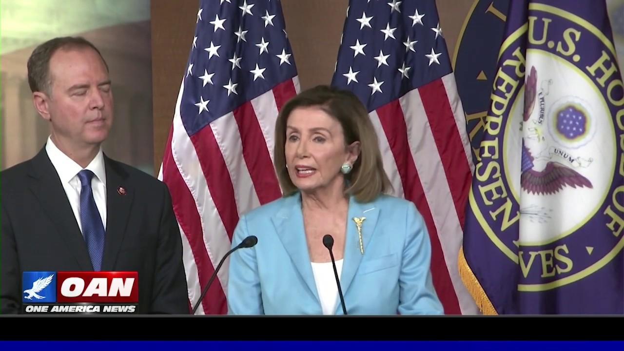 Speaker Pelosi, Rep. Schiff address reporters on impeachment inquiry