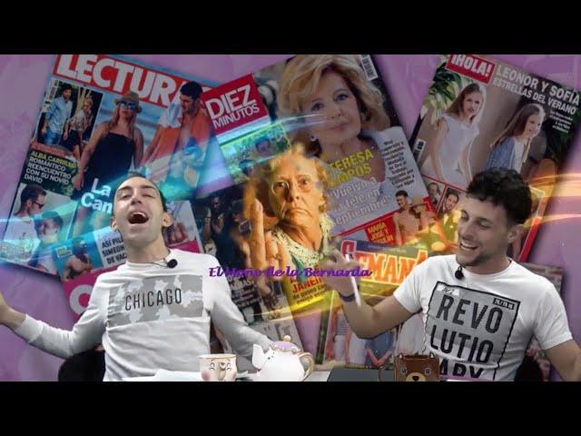 EL MOÑO DE LA BERNARDA 15 Especial Eurovision 1ª parte