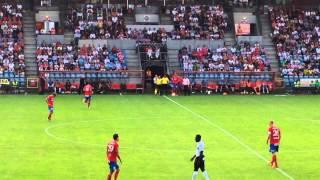 Jordan Larsson, Henrik Larssons son, gör debut i HIF 2014-07-27
