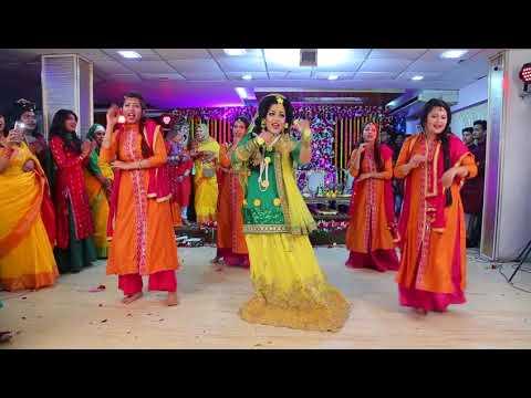 Kabira and payal hai chankai bride dance