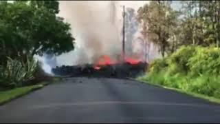Hawaii Volcano Lava 20 Fissures Fountains || USA  || Documentary 3 ||