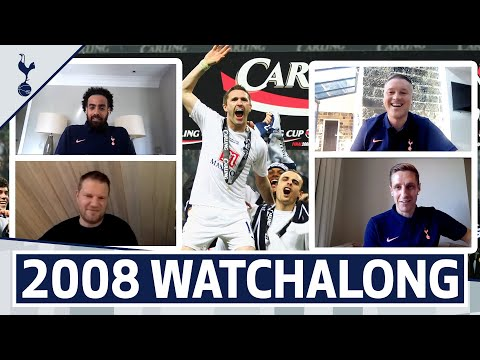 2008 LEAGUE CUP WATCHALONG | Dawson, Robinson, Huddlestone & Tainio!