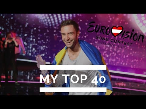 Eurovision 2015 // MY TOP 40 (from Canada)