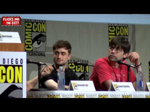 Horns Comic Con Panel - Daniel Radcliffe