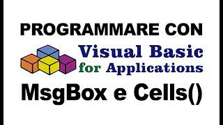 Macro di Excel con VBA