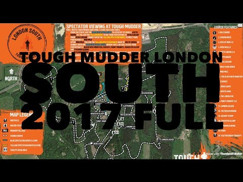 Tough Mudder London south full 2017 The whole track.