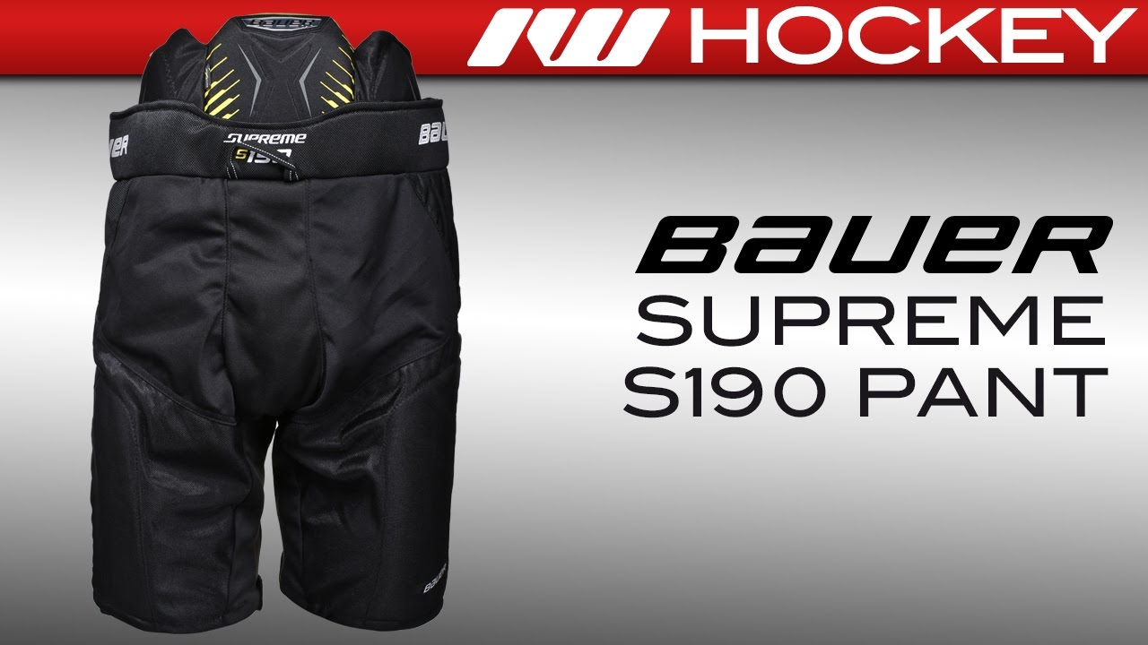 0ffc49a5065 Bauer Supreme S190 Ice Girdle Review - YouTube