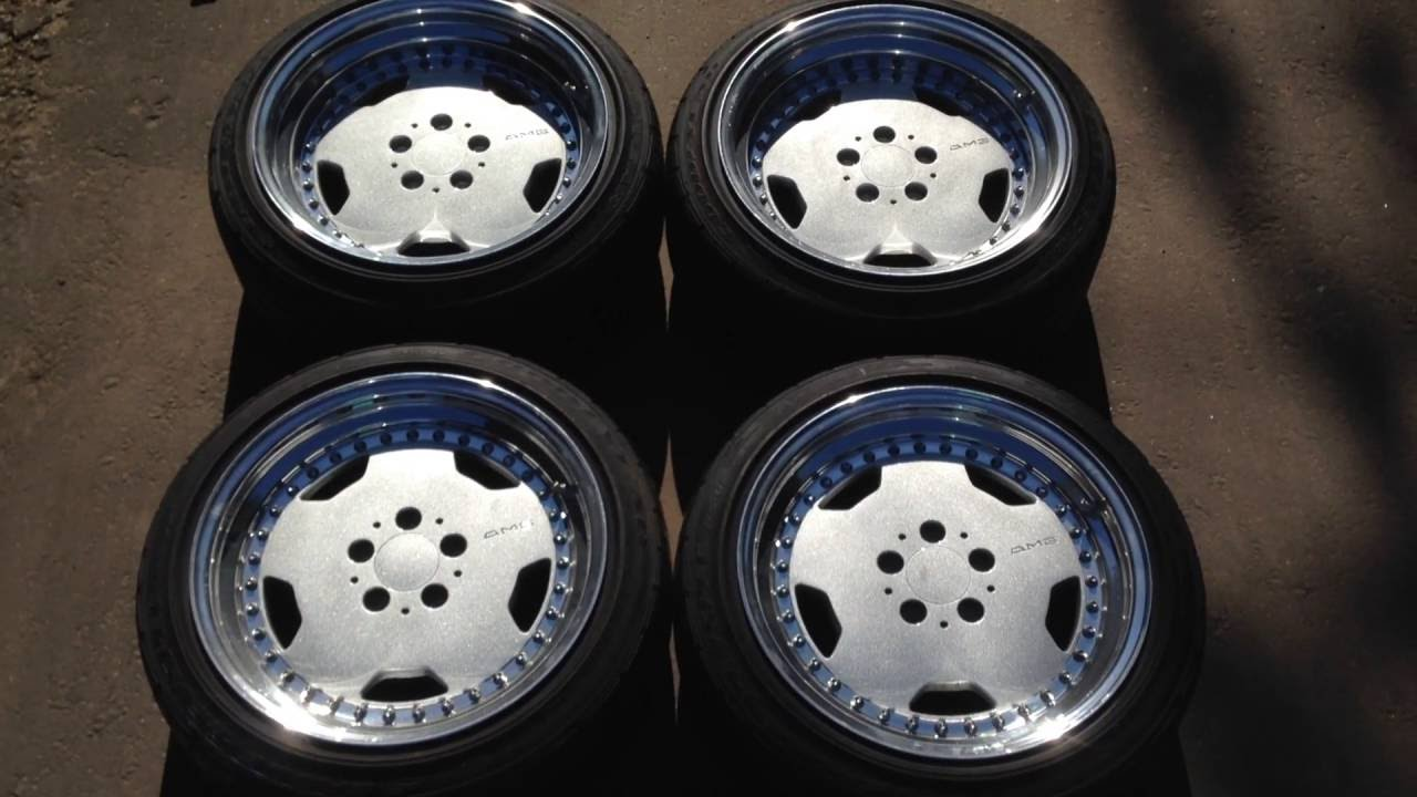Luxuryrims Amg 3pc By Oz 3p Piece Wheels Custom R17 9j