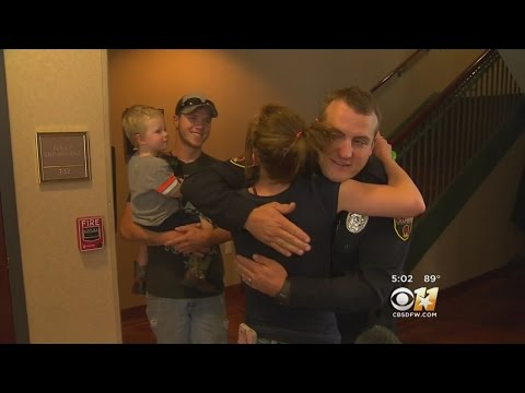 Family Grateful After Granbury Officer Saves Toddler's Life