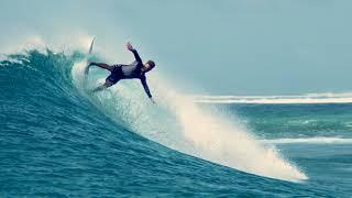 RENR surfing på Maldiverne