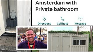 Gambar cover British holidaymaker arrives in Amsterdam to find Airbnb home is a shipping container