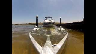 Streaker Boats 5700 Navigator with Easy-Tow Trailer. Boat Launch & retrieve.
