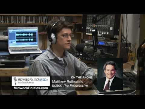 Midweek Politics with David Pakman - Interview with Matthew Rothschild from The Progressive